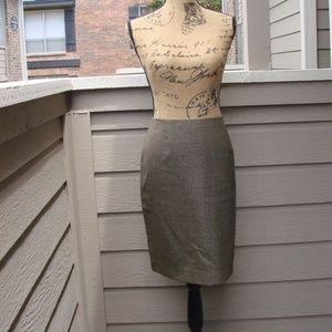 Ann Taylor Loft wool pencil Skirt Sz 12